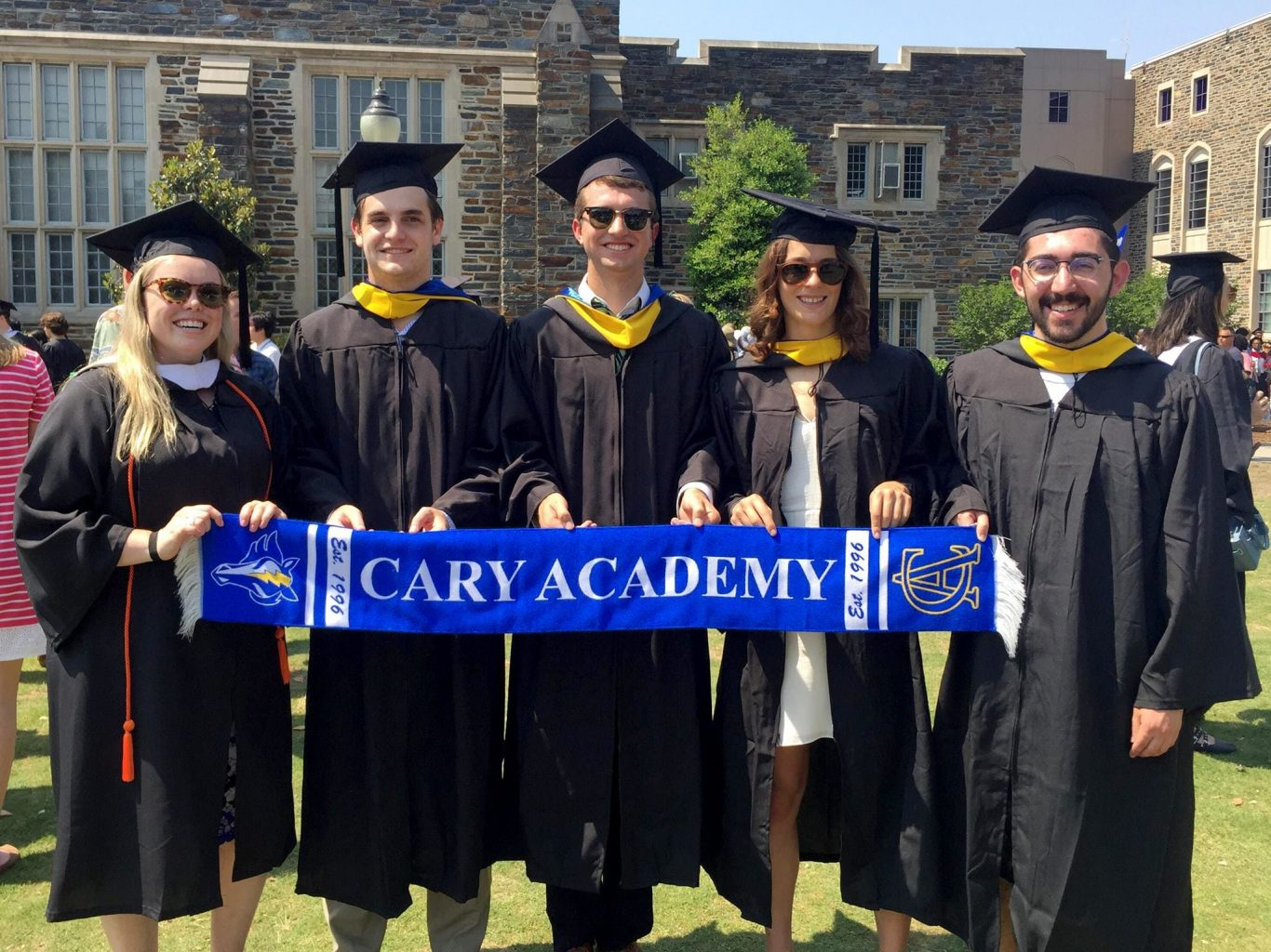 Cary Academy alumni graduating from Duke University