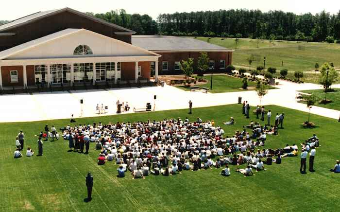 Cary Academy opening ceremony