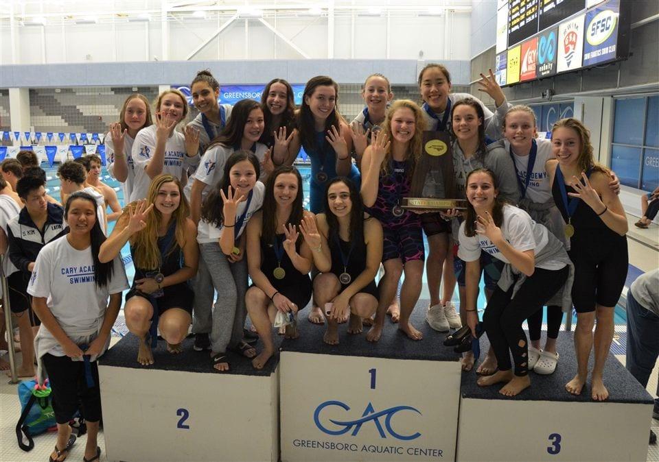 varsity girls swim team
