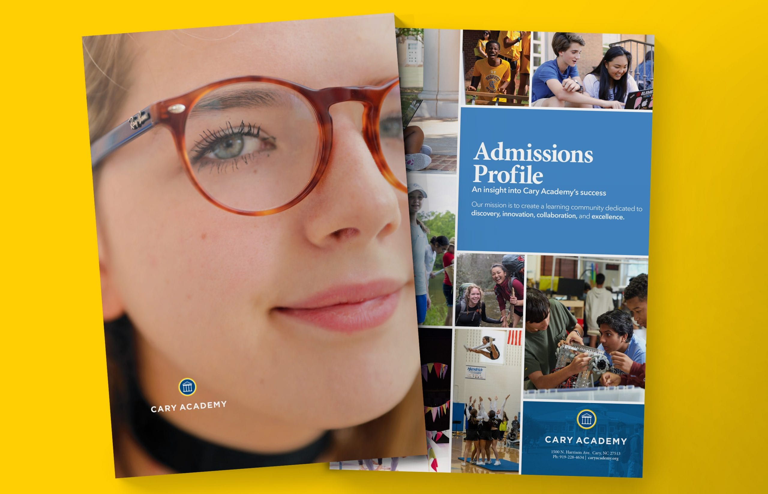 Admission publications