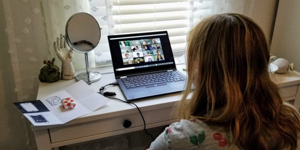 MS Student remote learning photo